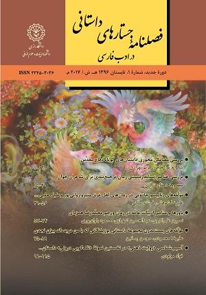 جستارهای داستانی در ادب فارسی